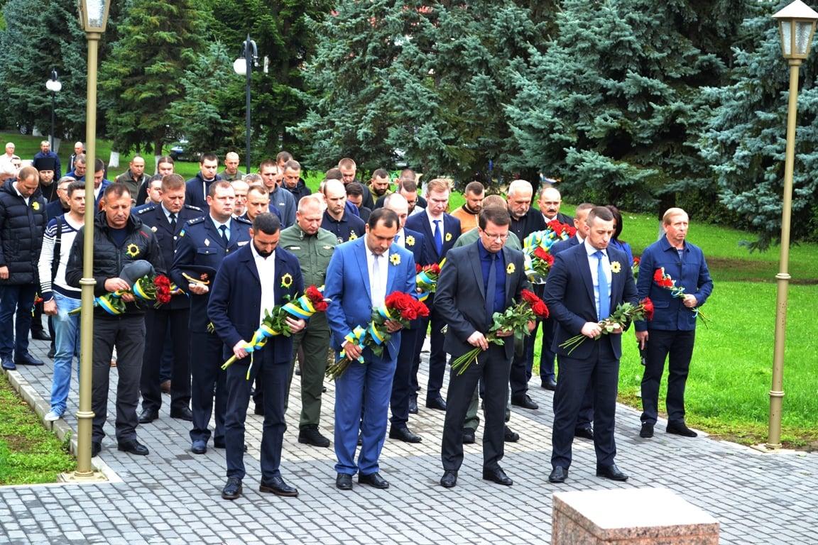 На Закарпатті вшанували пам'ять воїнів, які віддали своє життя за незалежність та суверенітет України