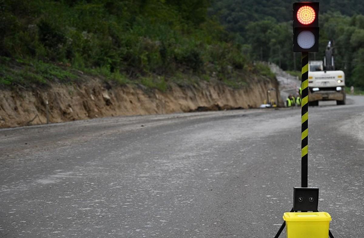 На Ужгородищі триває ремонт дороги