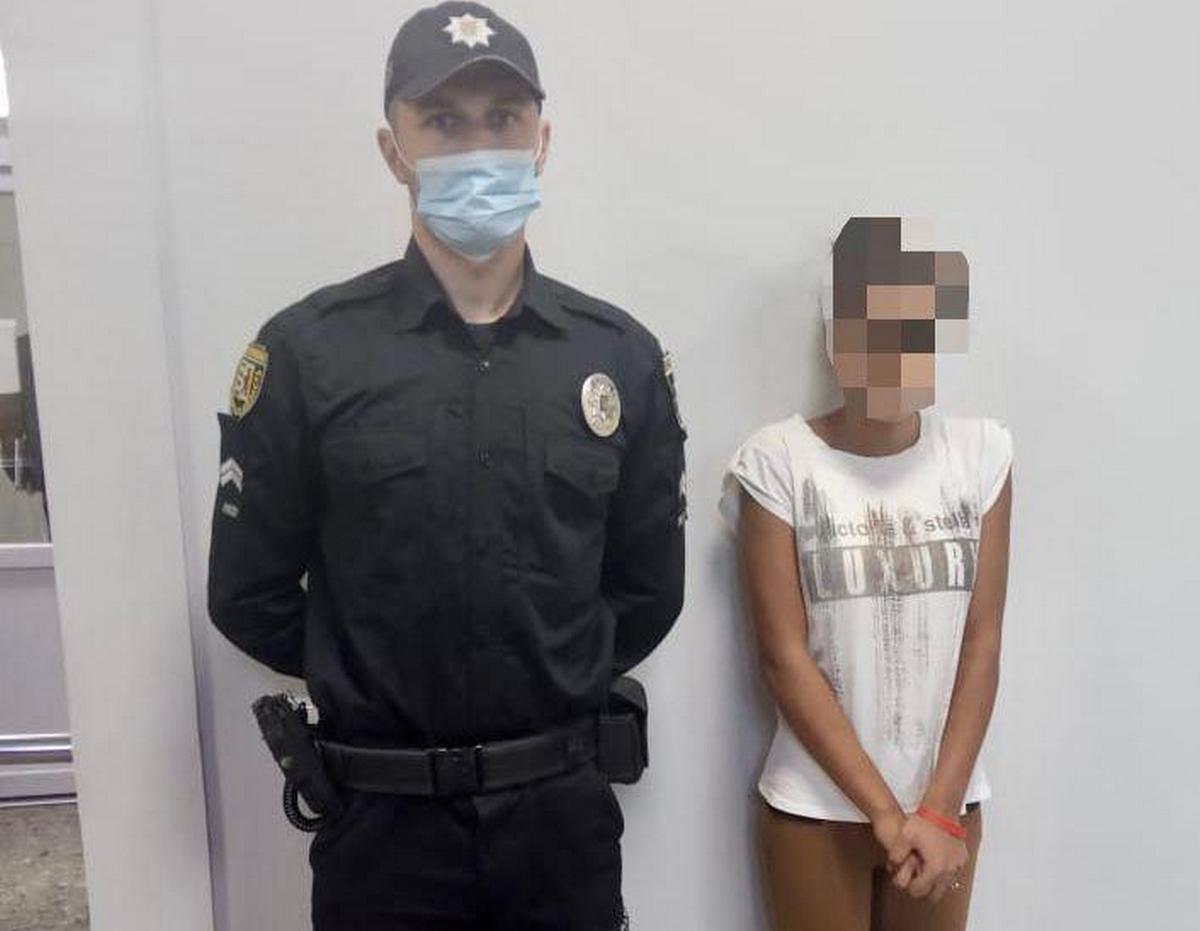 Мати заявила в поліцію про зникнення її 14-річної доньки