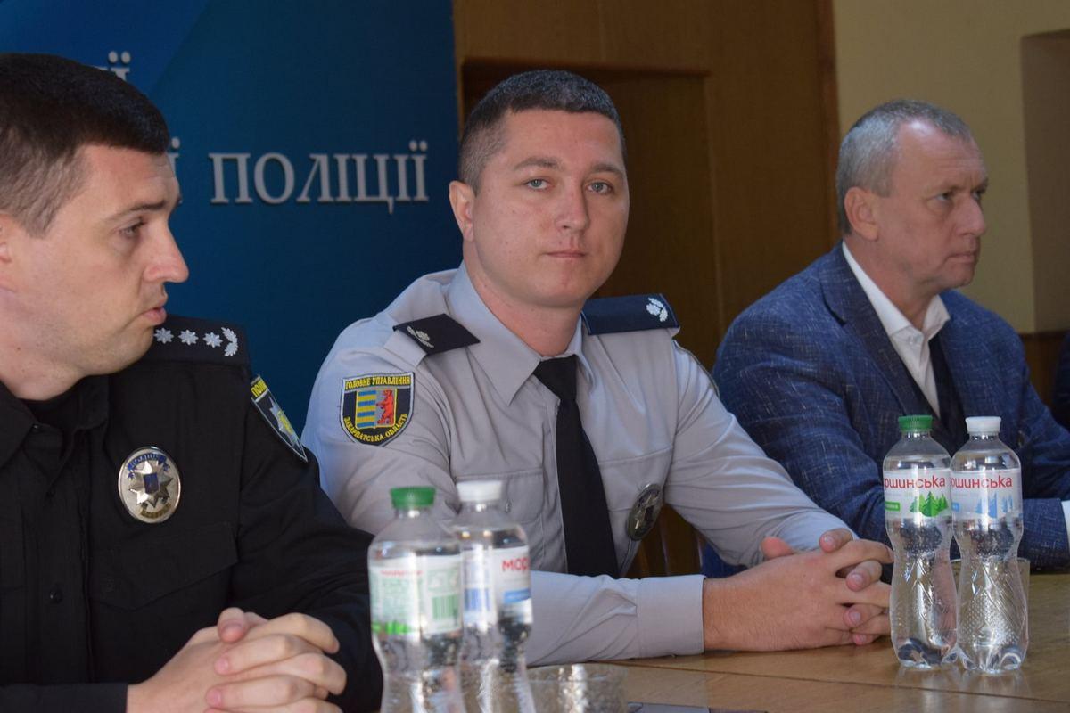 Одне із районних відділів поліції Закарпаття отримало нового керівника