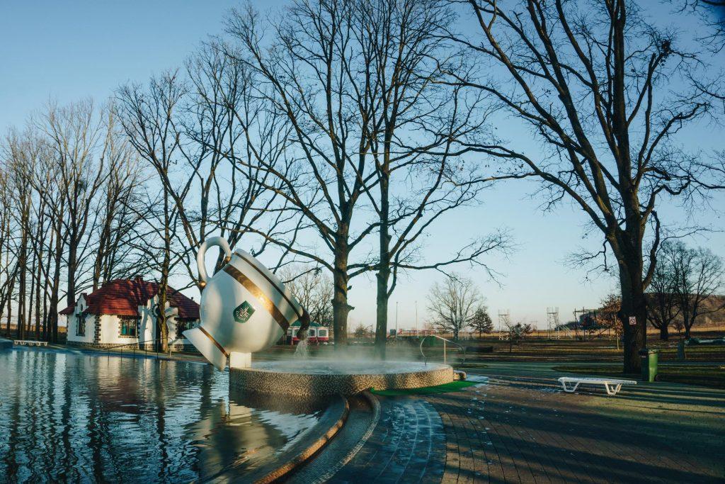 """Термальні води """"Косино"""" попереджають про початок реконструкції басейнів"""