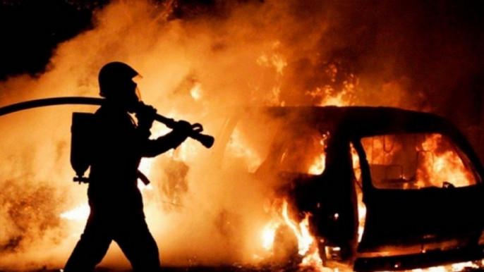 Після удару машина миттєво загорілася: ввечері сталась ДТП