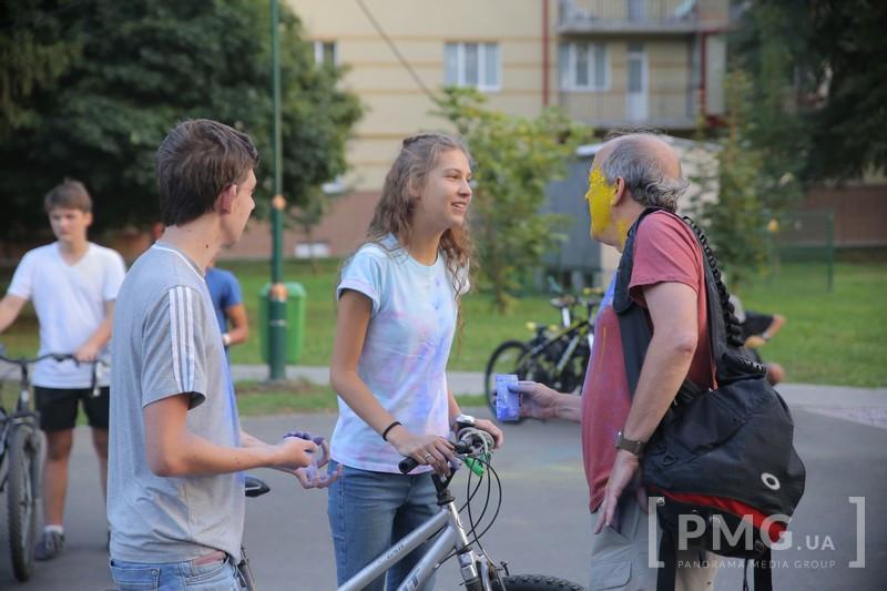 Гість зі США розповів про своє враження від велозаїзду у Мукачеві