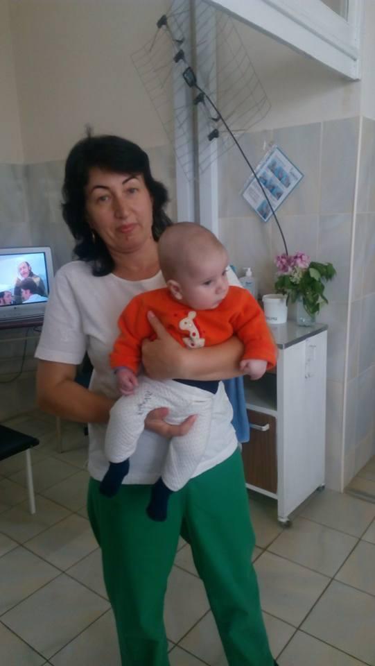 У одній із лікарень Мукачева покинули грудне немовля (фото)