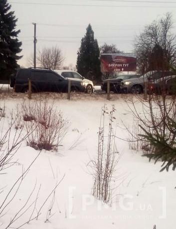 Ранкова аварія у Мукачеві