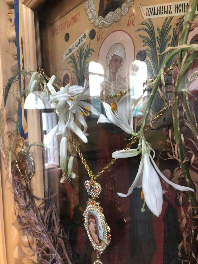 Диво у монастирі в Мукачеві