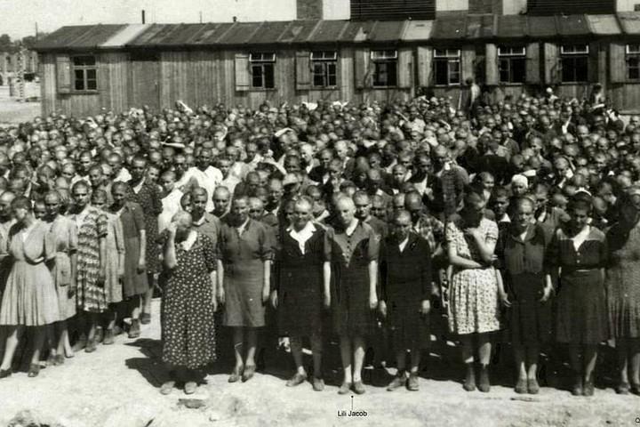 В'язні нацистів. У центрі Лілі Джейкоб із Закарпаття