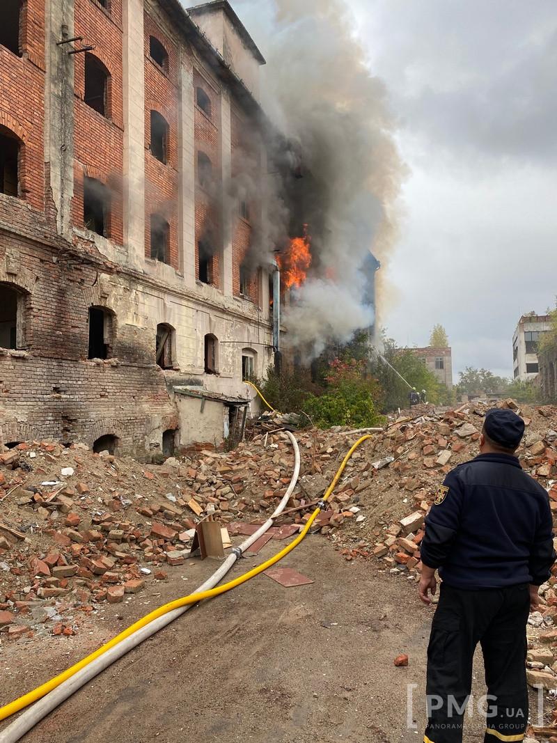 Пожежа у Мукачеві Мукачівприлад