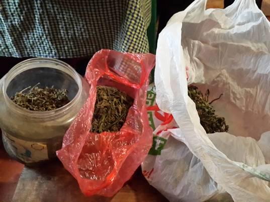 Близько 2-х кілограмів марихуани вилучили правоохоронці в 61 -річного ужгородця