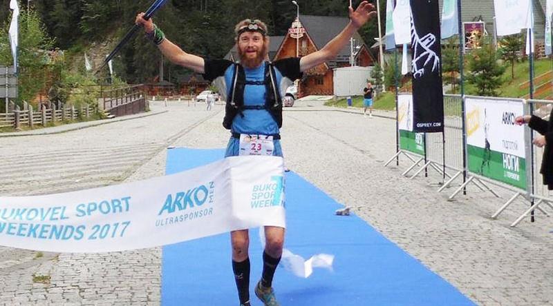 Закарпатець переміг на гірському марафоні у Буковелі