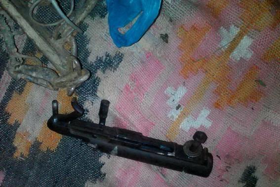 Пенсіонер зберігав удома зброю