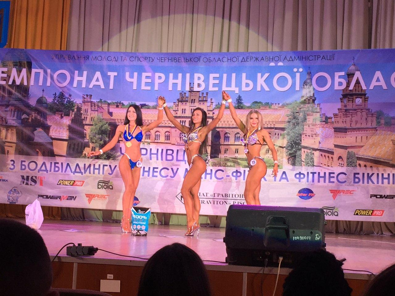 Хустянин став абсолютним чемпіоном відкритого чемпіонату Буковини з бодібілдингу