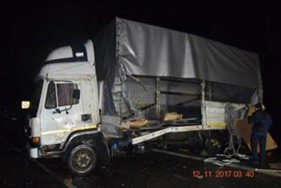 Автомобілі українців зіткнулися вСловаччині, загинув чоловік