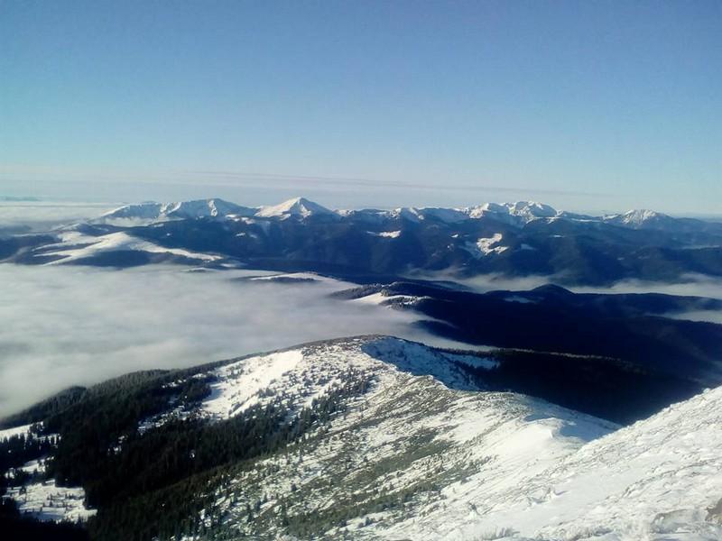 На горі Піп Іван панує справжня зимова казка