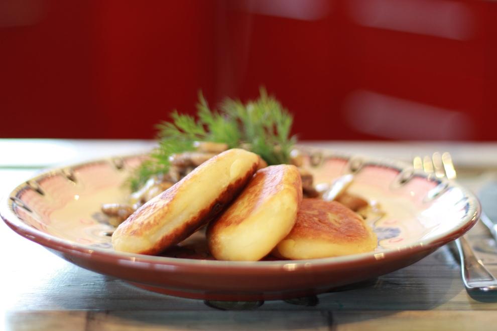 Картопляні пиріжки на Святвечір
