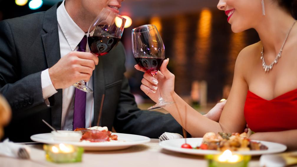 Романтична вечеря в День св. Валентина
